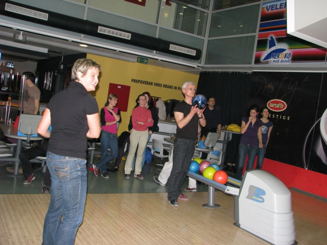 Novoletni bowling 2008