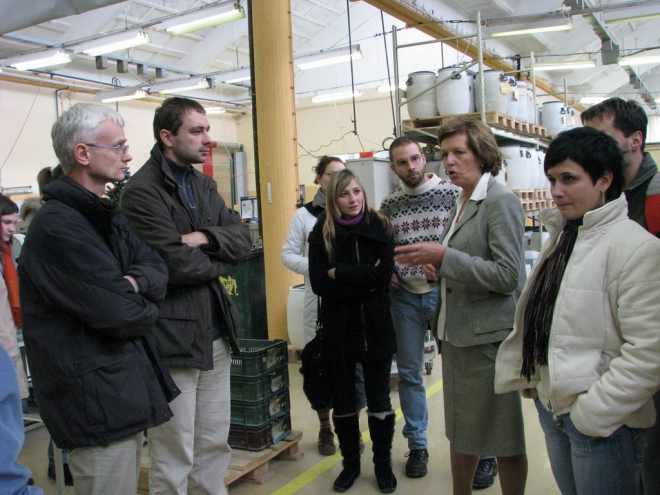 Obisk Hidria AET Tolmin 2007